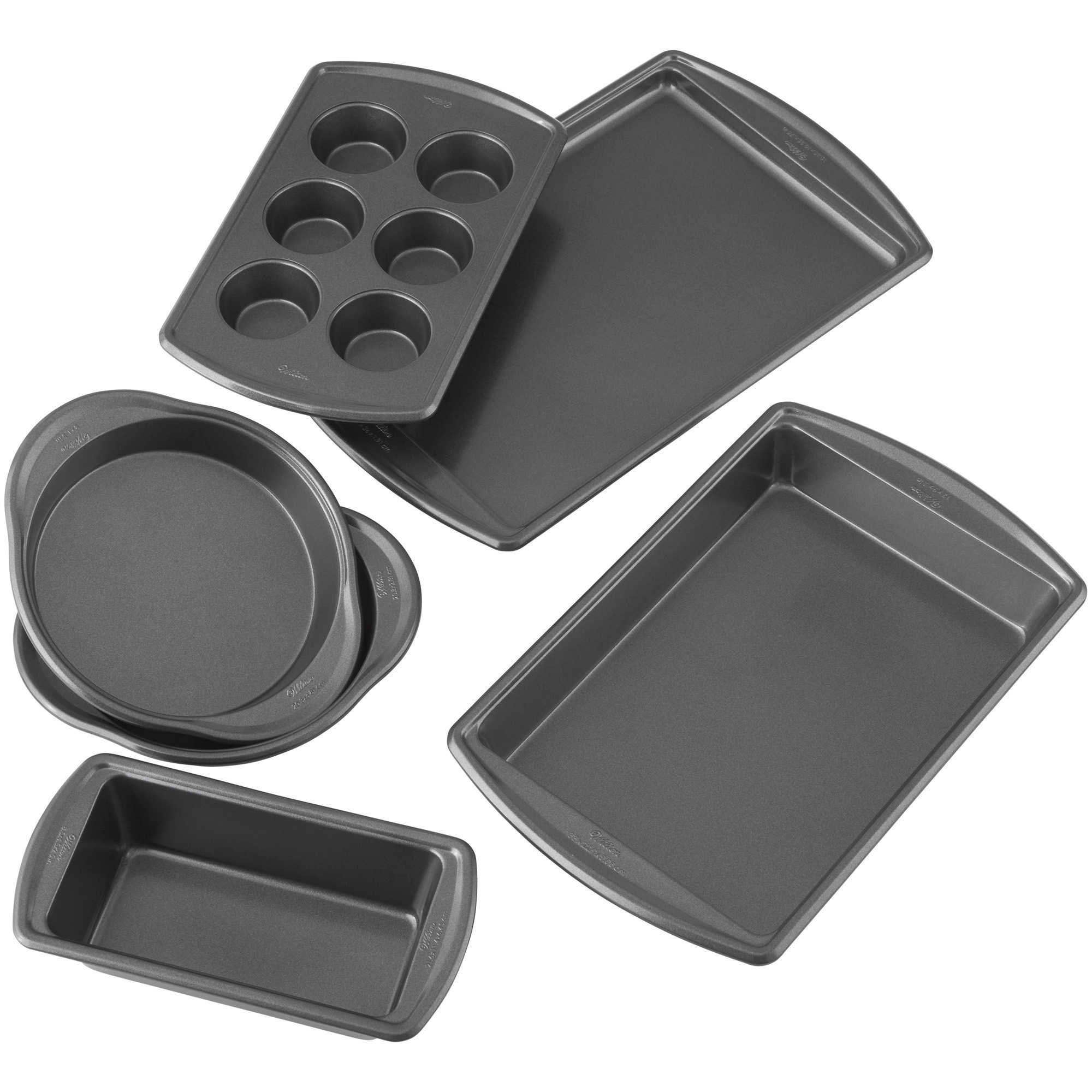 Wilton Advance Select Premium Nonstick 6-Piece Bakeware Set
