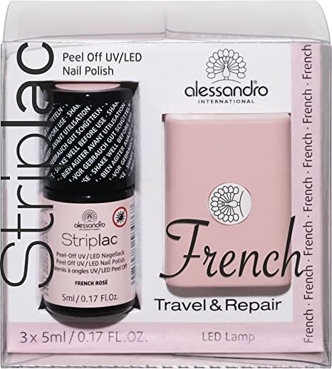Alessandro Ongles Uvled À Striplac Semi Vernis Permanent Mini SMVzpU