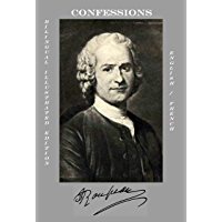 CONFESSIONS (Bilingual Illustrated Edition - English / French): Complete in 12 books (French Edition)