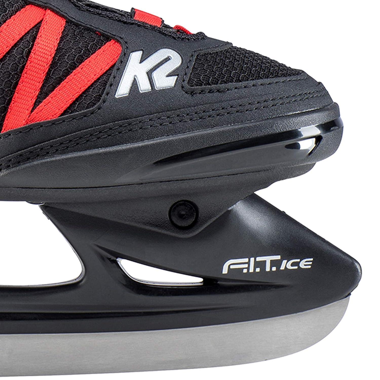 Color Negro K2 Skates F.I.T Talla 42-25D0401.1.1.090 Patines de Hielo - Patines en l/ínea para Hombre Ice Boa