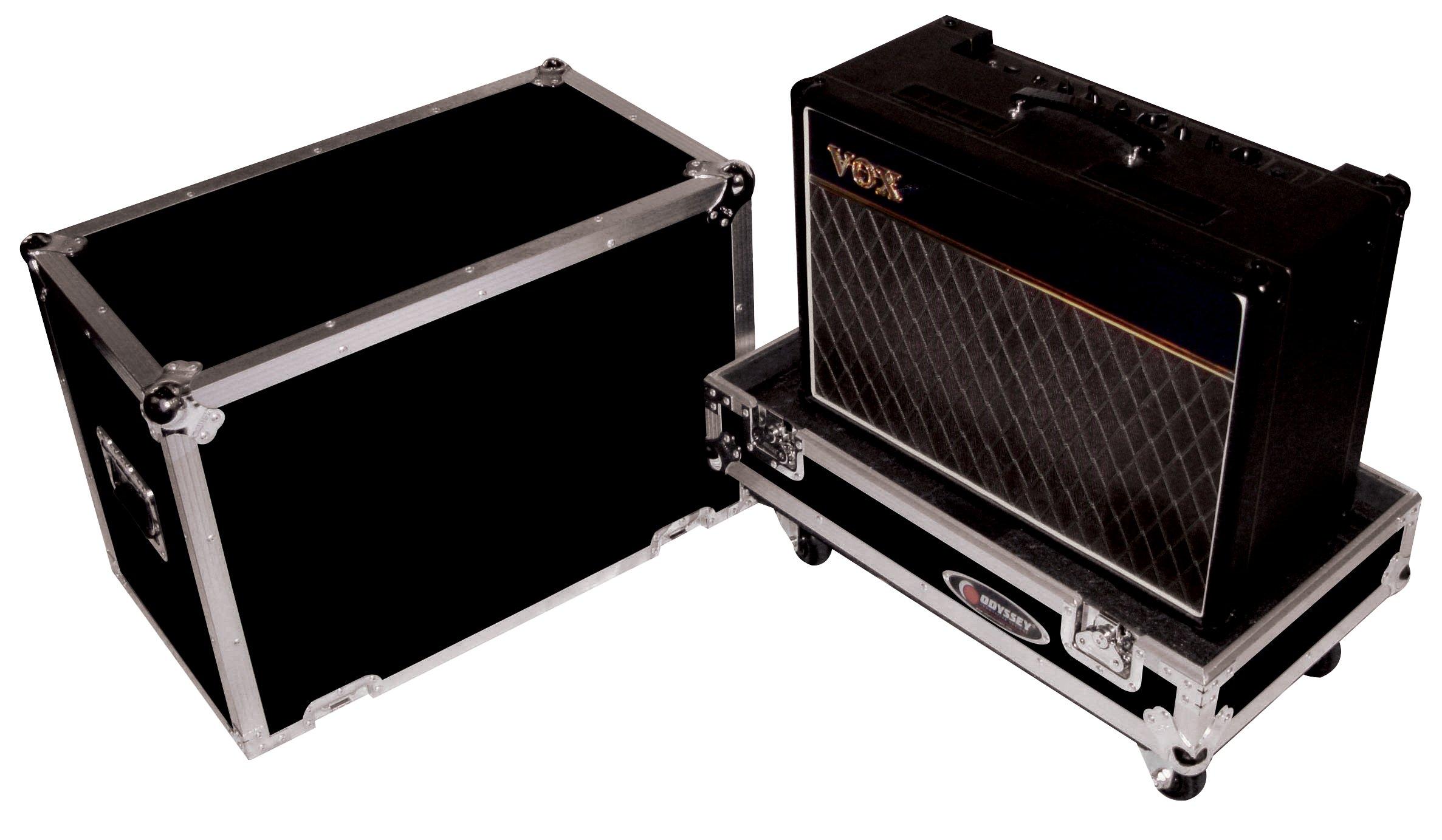 Odyssey FZGC112W Flight Zone 1 X 12 Speaker Guitar Combo Amp Ata Case With Wheels