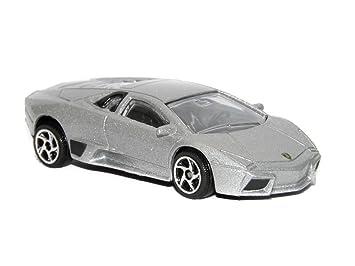 Lamborghini Reventon Silver 1:64 Majorette Street Cars 219C
