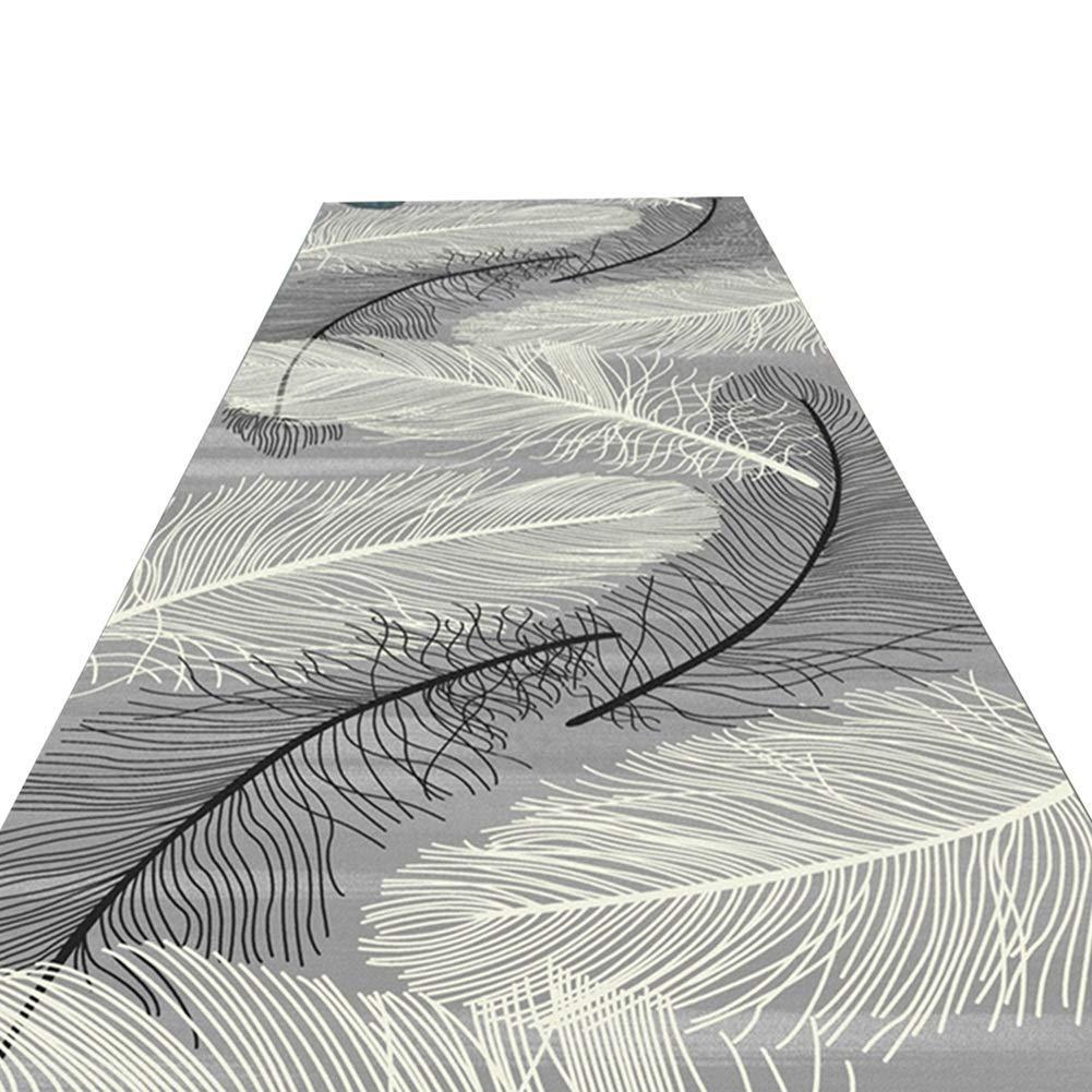 A LYQZ Tapis rectangulaire Tapis géométrique Abstrait Couloir Tapis Tapis rectangulaire, Coupe Personnalisable (Couleur   A, Taille   1.2  2m) 12m