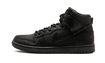 Amazon.com  Nike SB Dunk High Triple Black - US 6.5  Shoes 066ca82baa44