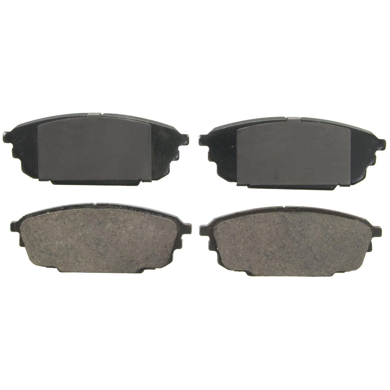 Silver Hose /& Stainless Green Banjos Pro Braking PBK1149-SIL-GRE Front//Rear Braided Brake Line
