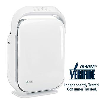germguardian ac9200wca 3-in-1 large room air purifier, hepa filter ...