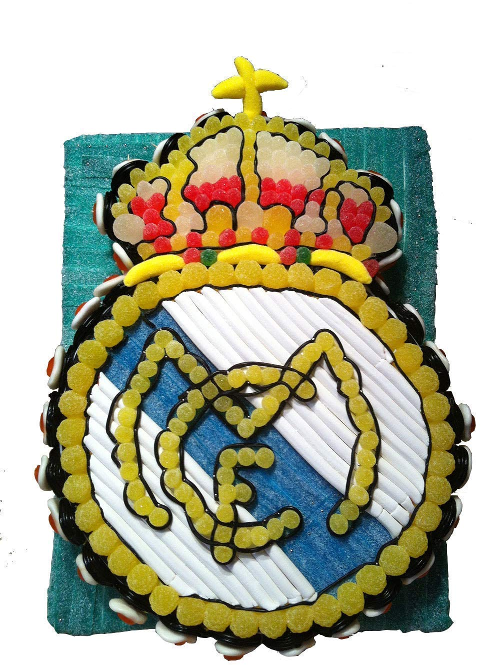 Tarta chuches Real Madrid futbol: Amazon.es: Handmade