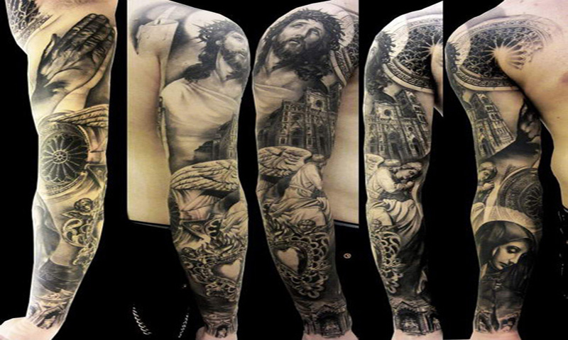 tattoo sleeve designs ideas appstore for android. Black Bedroom Furniture Sets. Home Design Ideas