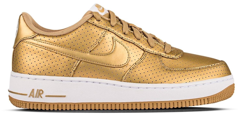Nike Boys'' Air Force 1 lv8 (gs) Basketball Shoes Dorado