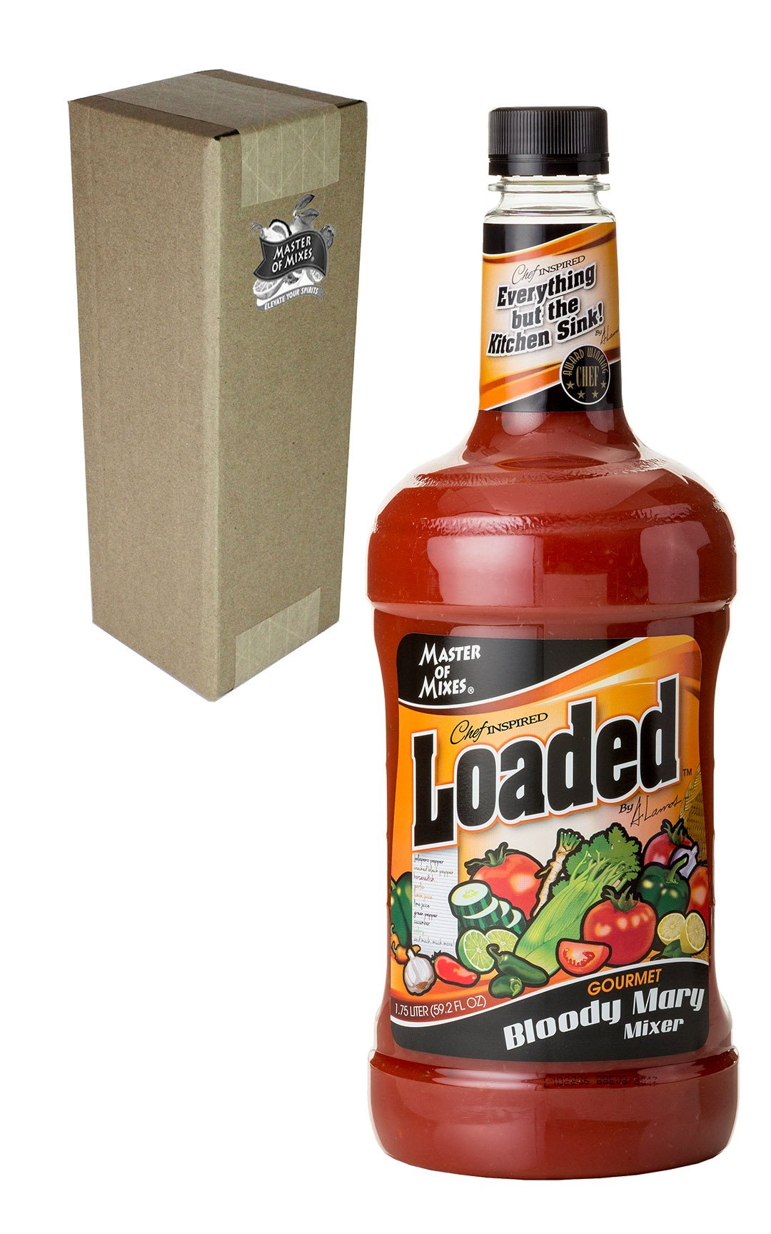 Master of Mixes Bloody Mary Loaded, 59.2 ounces
