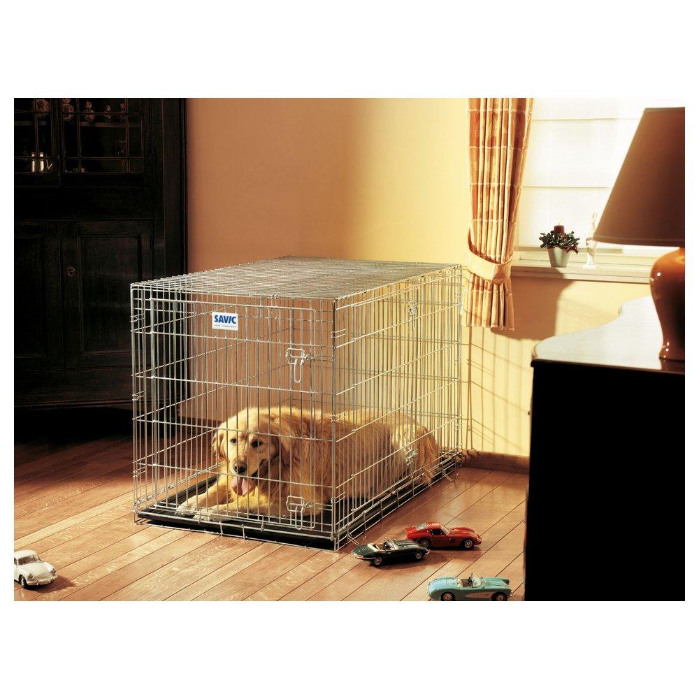 Savic - jaula de transporte Dog Residence para perro - 118 x 76 x ...