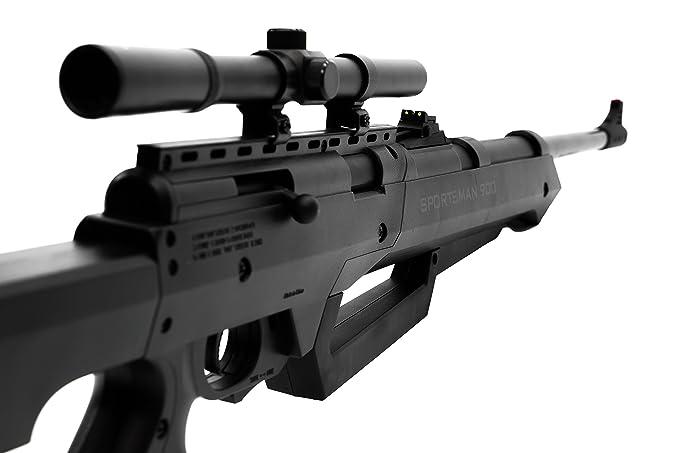 Bear River Sportsman 900 Air Rifle - Multi-Pump  177 Airgun - BB/Pellet Gun  with Scope Included