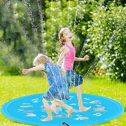 Grandnessry - Alfombra de Juego Hinchable de Agua para césped de ...