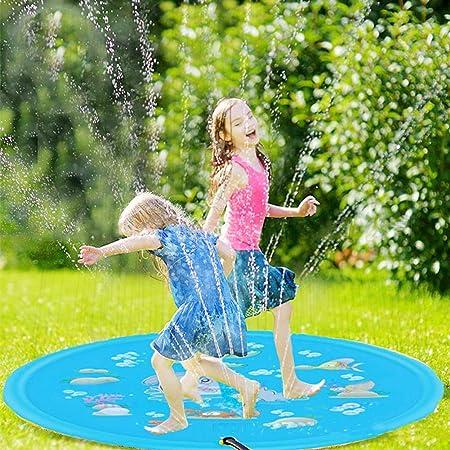 Grandnessry - Alfombra de Juego Hinchable de Agua para ...
