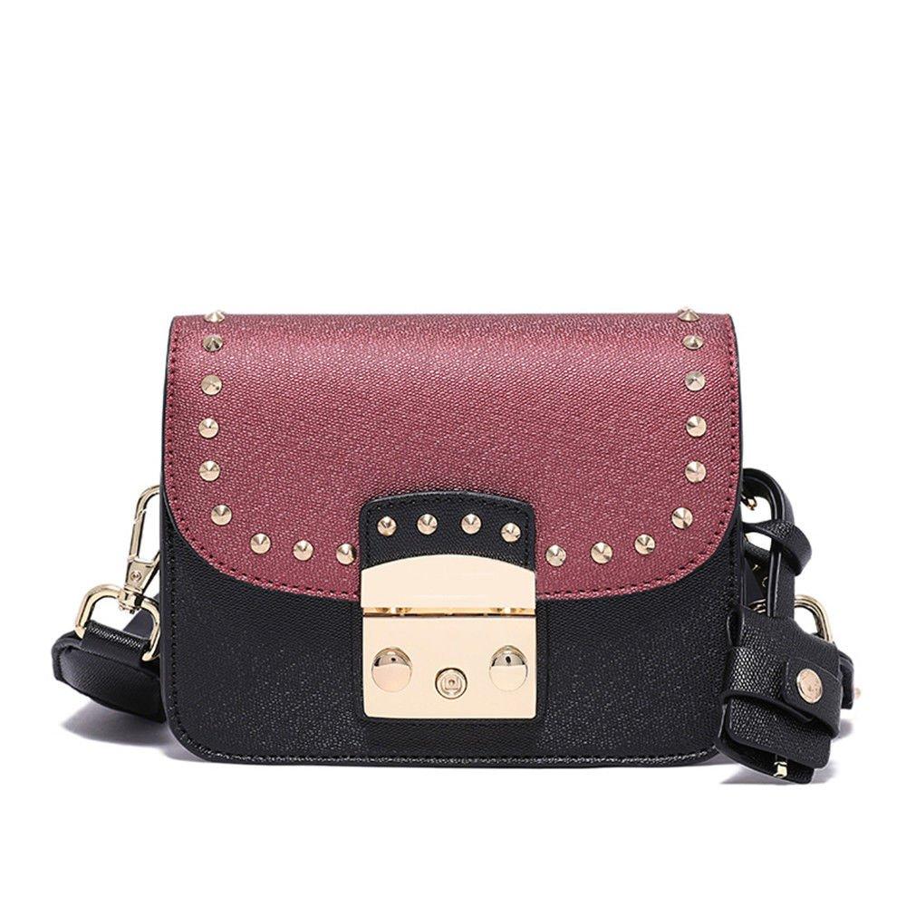 Single Shoulder Bag In Summer,Black,13X17X6.5Cm