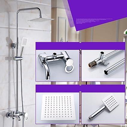 Amazoncom Shower Shower Set Copper Shower Body Concealed Bathroom - Water-saving-set-for-the-bathroom