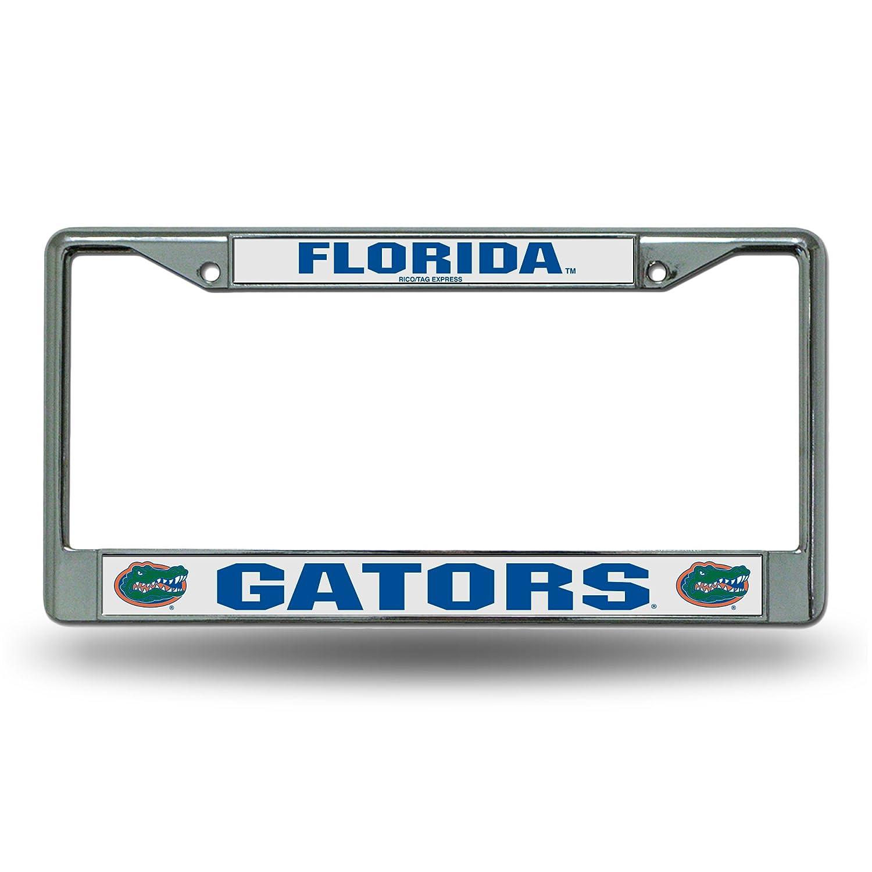 Amazon.com : Florida Gators Chrome License Plate Frame : Sports ...