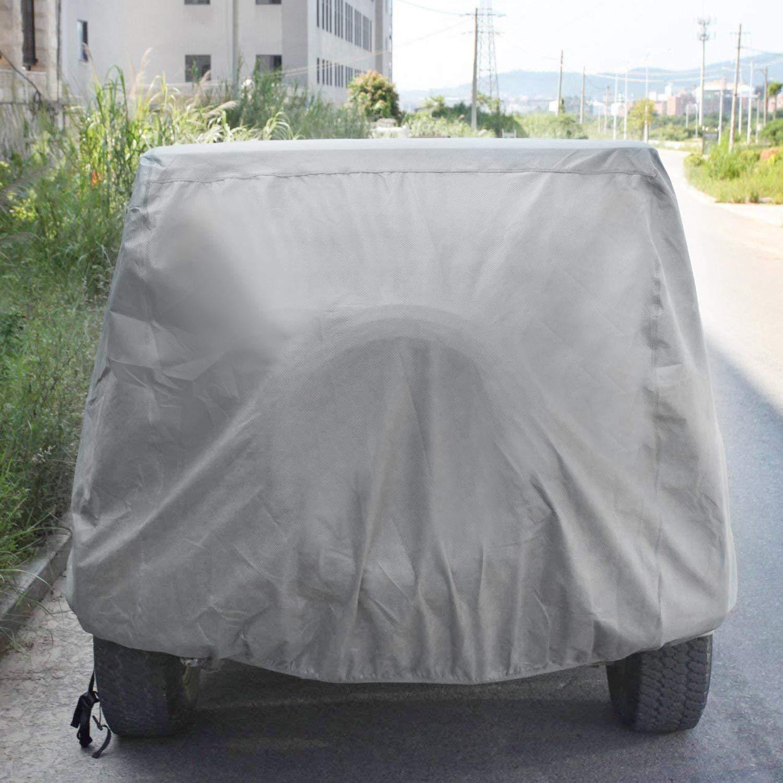 Leader Accessories Compatible for Jeep Wrangler 4 Door Custom Car Cover 5 Layer Waterproof