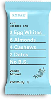 product image for RXBAR Vanilla Almond, Protein bar, 1.83 Oz (Pack Of 24) High Protein Snack, 1.83 Oz