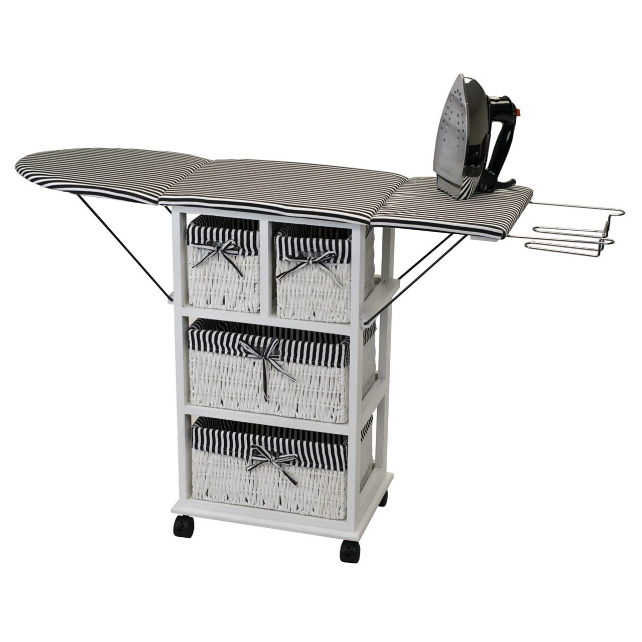 Rolling Ironing Board Station - Home Storage Unit by MaxiAids (Image #1)