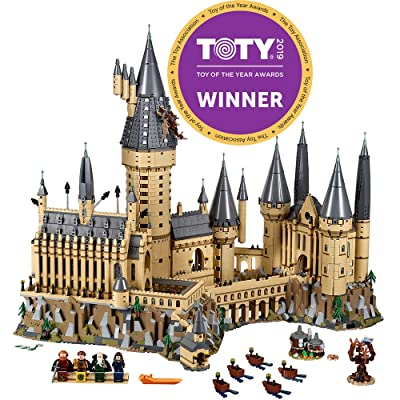 LEGO Harry Potter Hogwarts Castle 71043 Castle Model Building Kit With Harry Potter Figures Gryffindor, Hufflepuff, and more (6,020 Pieces): Toys & Games