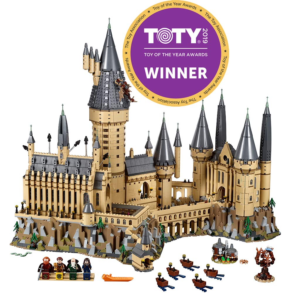 LEGO Harry Potter Hogwarts Castle 71043 Castle Model Building Kit With Harry Potter Figures Gryffindor, Hufflepuff, and more (6,020 Pieces)