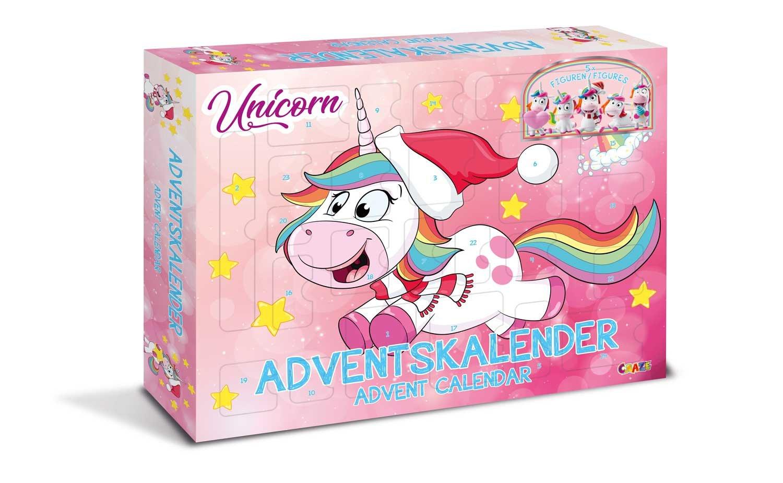 Craze Advent Calendar Unicorn 14028