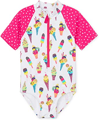 Hatley Girls Baby Rash Guard