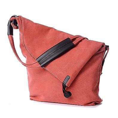 iLory Women Girls Casual Canvas Shoulder Bag Crossbody Messenger Bags dee6814827b89