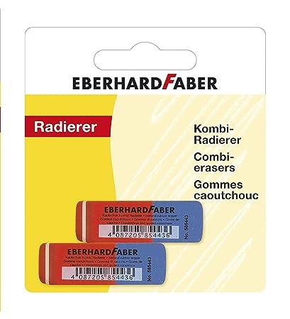 Eberhard Faber 585498 - Goma de borrar de látex Free, 2 en blíster ...