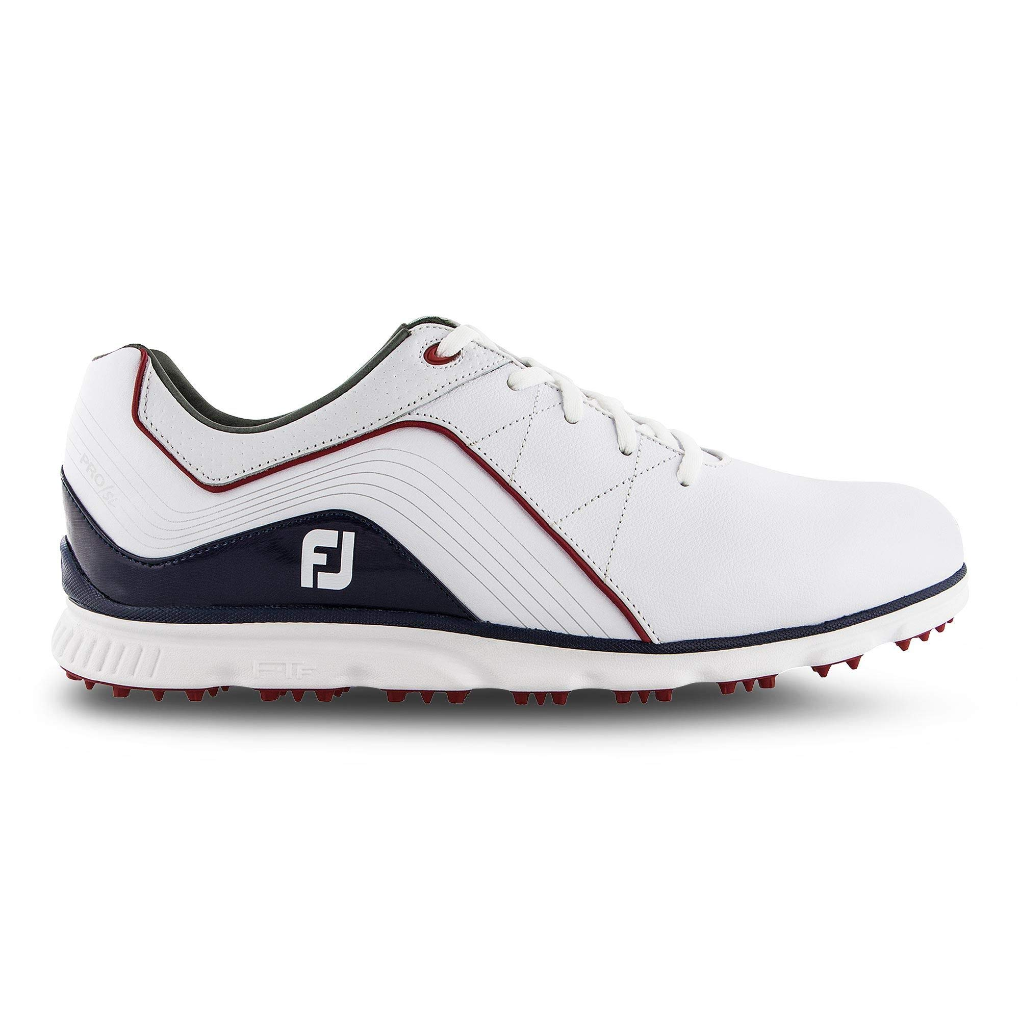 FootJoy Men's Pro/SL Golf Shoes White 11.5 XW Navy, US by FootJoy