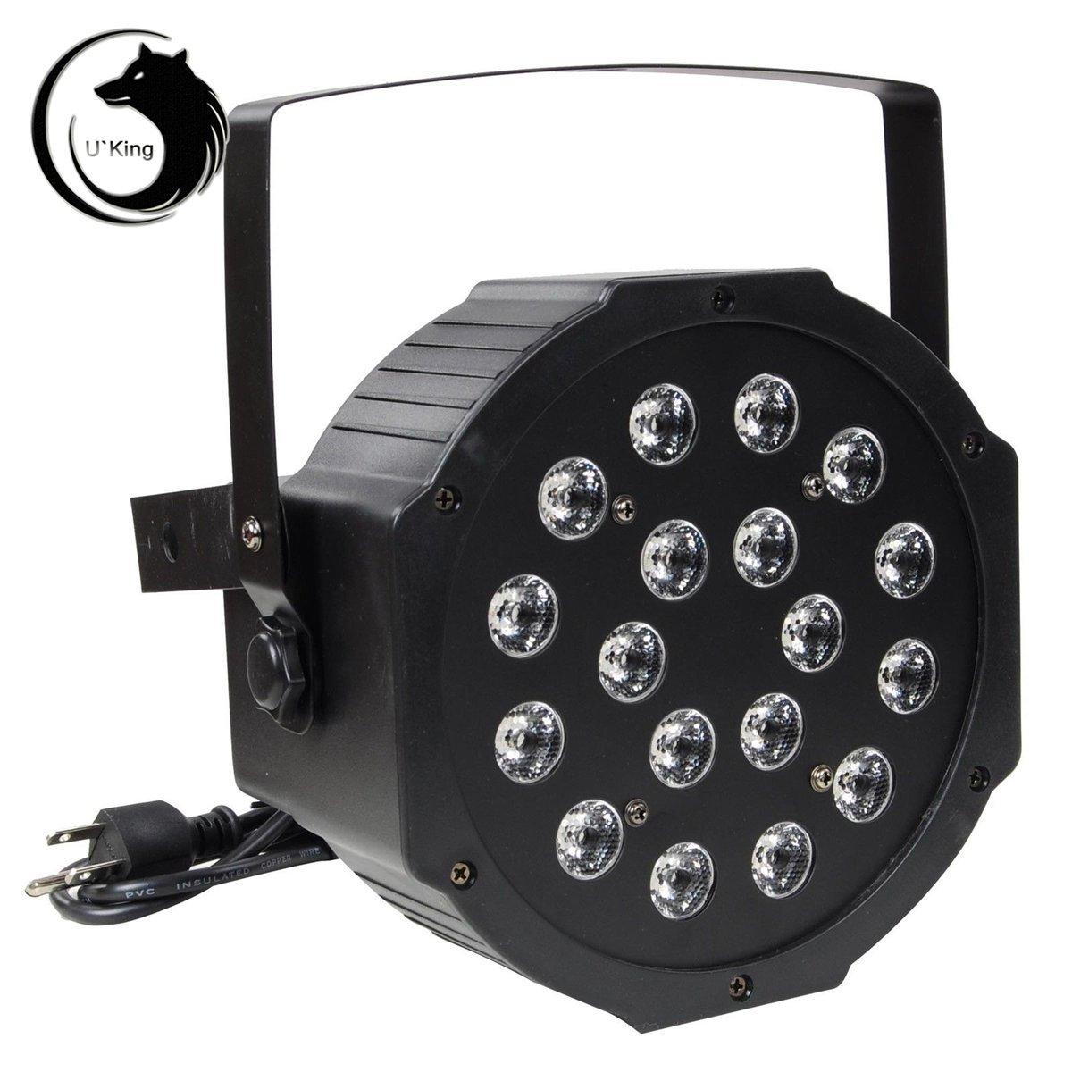 u\' King Licht-Bühne Pro Scheinwerfer DMX 51218W LED RGBW Bestellung Sound Musik für Party Club Disco DJ Club Hochzeit