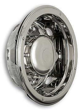 Tapacubos Acero Inoxidable 19,5 pulgadas – Llanta – Revestimiento – para camiones (de