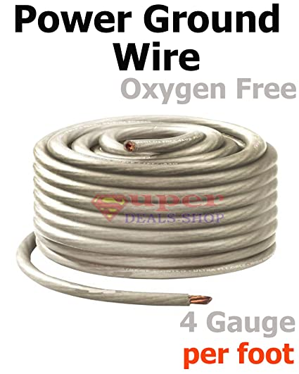 1//0 Gauge BLUE Power Ground Stranded Wire Car Audio Cable Sold By The Foot