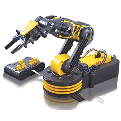 Circuit-Test Robotic Arm Edge Kit with Wired Controller - Learn Robotics Educational Kit: Toys & Games
