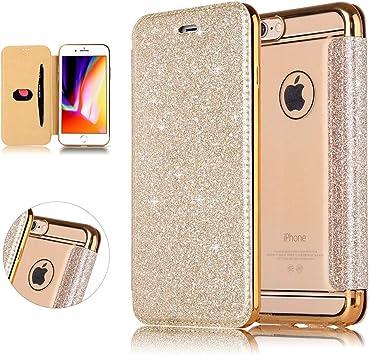 coque rabat iphone 6 transparente