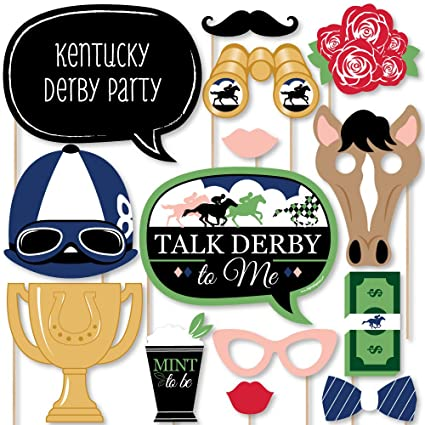 Amazoncom Big Dot Of Happiness Kentucky Derby Horse Race Party
