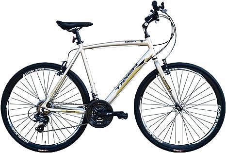 Tiger Explorer 700C - Bicicleta híbrida de senderismo de aleación ...
