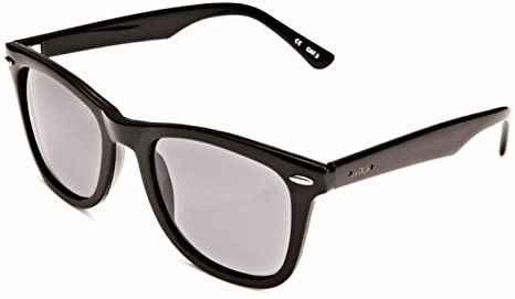 fdef49908754 Amazon.com  CARVE Eyewear Sunglasses Wow Vision Black Polarized Grey ...