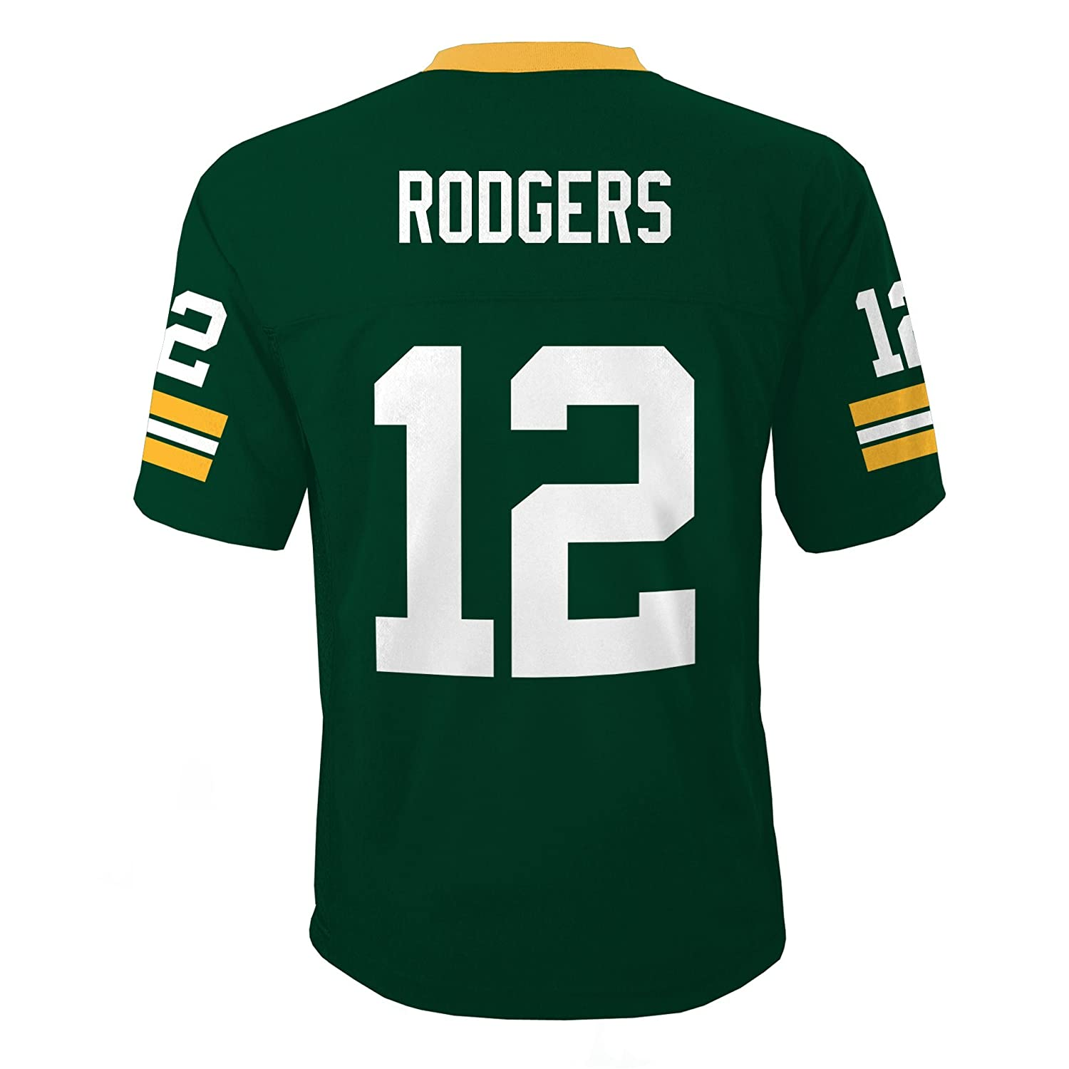 Outerstuff NFL Green Bay Packers Aaron Rodgers Boys 4-7 Mid-Tier Jersey