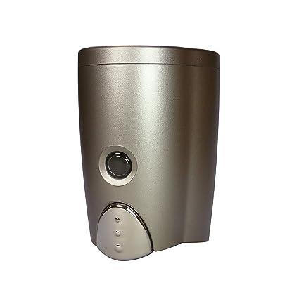 Champán plata montaje de pared dispensador de jabón (martillo)