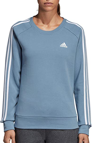 adidas Athletics Cotton Fleece 3 Stripes Sweatshirt