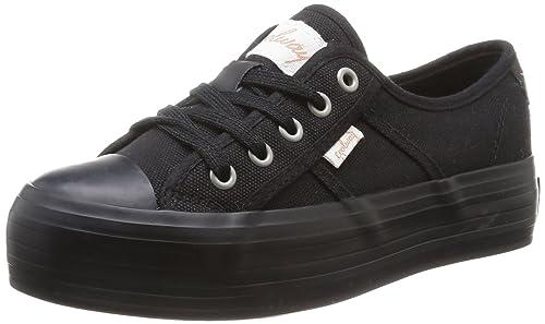Coolway Daniela, Zapatillas para Mujer, BLK, 36 EU: Amazon.es: Zapatos y complementos
