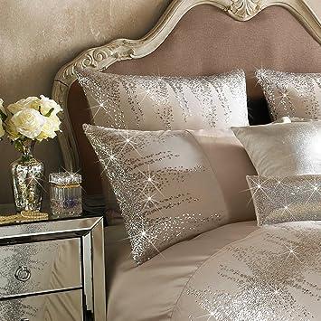 kylie minogue jessa luxury bedding blush pink square pillowcase 1
