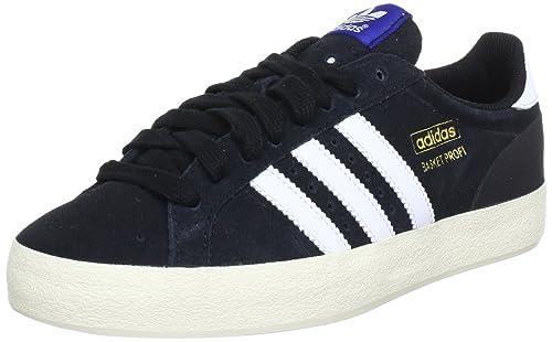 adidas Originals BASKET PROFI LO Q23017, Sneaker Uomo, Nero (Schwarz (BLACK 1