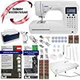 Juki HZL-F600 Exceed Series - Full Sized Computer Sewing Quilting Machine w/ Limited time Quilters Package!