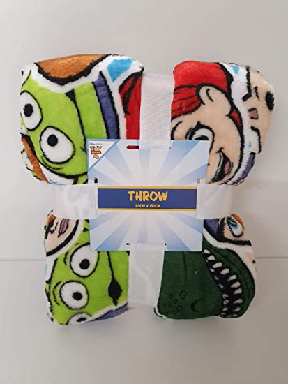 Licensed Primark Toy Story 4 Throw Soft Bed Blanket 120cm X