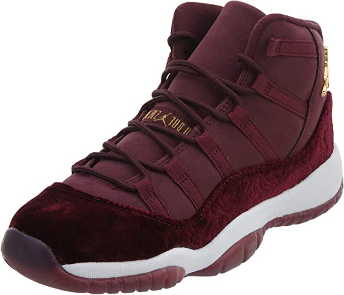 lowest price 45d9f 49fdc Nike Air Jordan 11 Retro Heiress Velvet RL 852625-650, Damen  Basketballschuhe rot 40