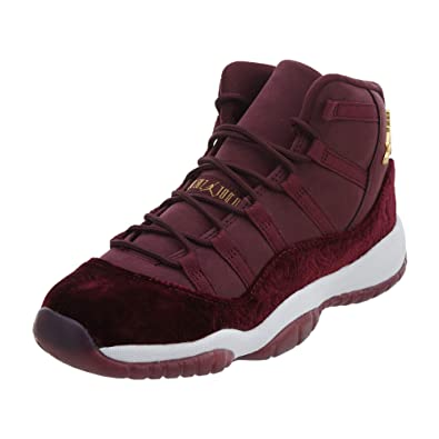 new styles 93f03 4f185 Nike Air Jordan 11 Retro Heiress Velvet RL 852625-650, Damen  Basketballschuhe rot 38