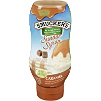 Smucker's Sundae Syrup No Sugar Added Caramel Flavoured Syrup 428mL